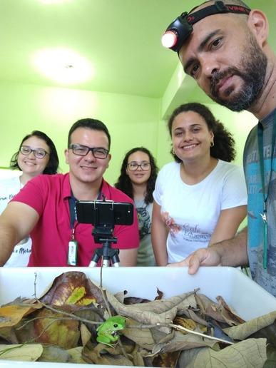 PESQUISADORES revelam avanços nas pesquisas de anfíbios da Sema em parceria com Ifro e UFRJ