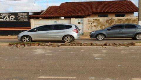 CASO DE POLÍCIA: Ato de vandalismo reincidente na Av Vieira Caula
