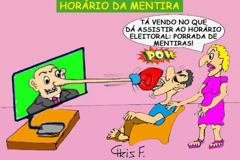 HORÁRIO DA MENTIRA