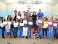 Sistema Fecomércio/Senac e Sebrae entregam certificados a formandos em Candeias do Jamari