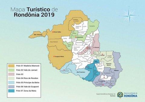 Rondônia tem novo Mapa Turístico aprovado pelo Ministério do Turismo