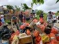 Mais de 2 toneladas de lixo são retiradas do Rio Machado