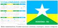 Saiba quais são os feriados e pontos facultativos de 2020 em municípios de Rondônia