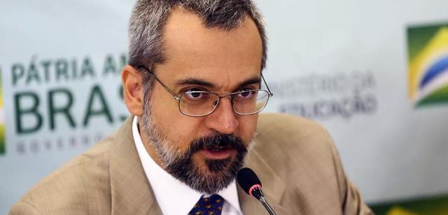 Weintraub diz que vai pegar fundo da Lava Jato para o MEC. (Foto: Marcelo Camargo/Agência Brasil) - Gente de Opinião