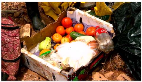 Lixo, merda e água contaminada não é 'missão de Deus'