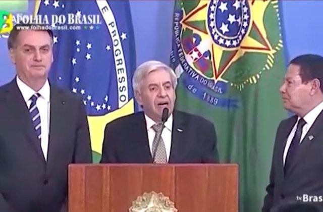 Ministro Augusto Heleno lembrou Jorge Teixeira em evento no Palácio do Planalto