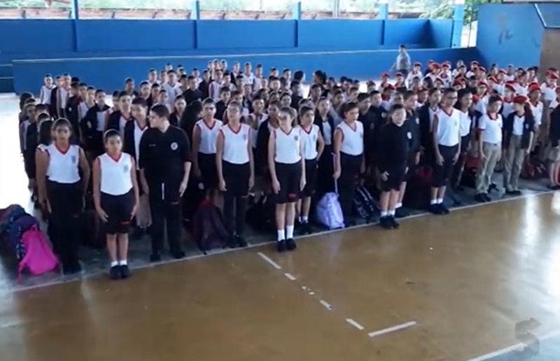 Governador Marcos Rocha cria mais 6 escolas militares em Rondônia