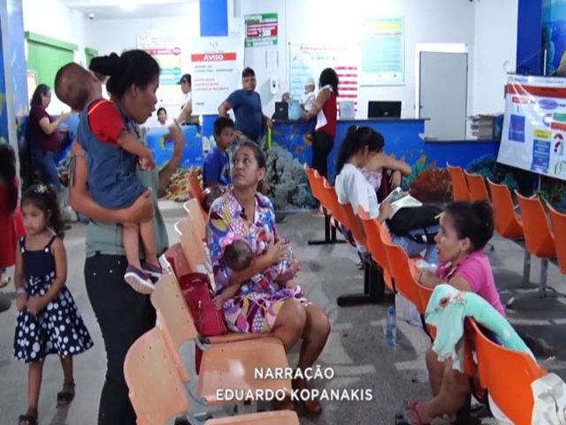 A longa espera de mães por buscam atendimento no hospital infantil Cosme e Damião