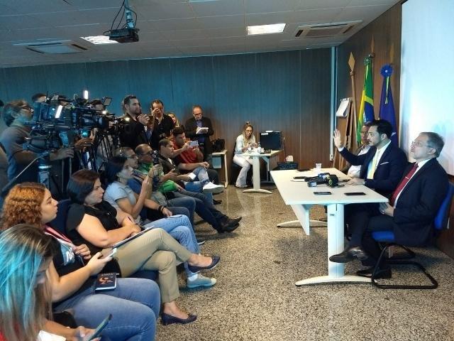 Coletiva reuniu a imprensa, na Capital, para falar sobre as medidas preventivas adotadas em Rondônia contra o coronavírus - Gente de Opinião