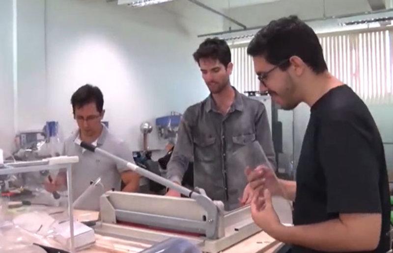Universitários de Rondônia se unem para ajudar os profissionais de saúde