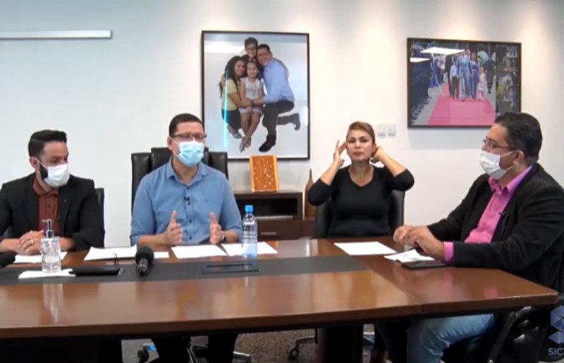 Marcos Rocha diz que reservas de Rondônia suportam só mais 45 dias