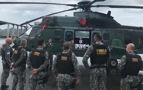 Ministério da Justiça autoriza o uso da força nacional até o fim da Operação Verde Brasil