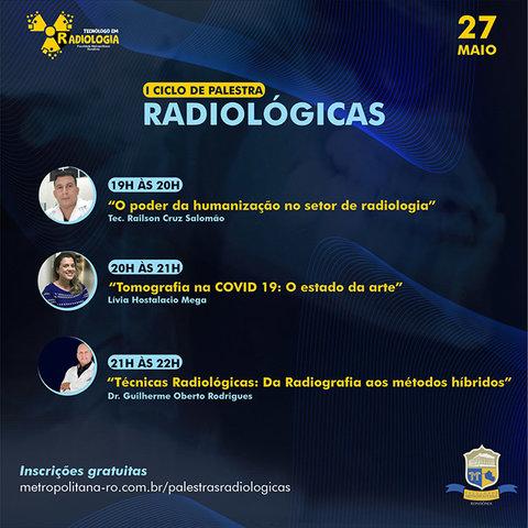Radiologia da FIMCA promove I Ciclo de Palestras Radiológicas online - Gente de Opinião