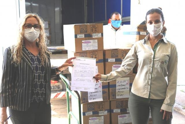 Doação de EPIs no CEMETRON em Porto Velho - Gente de Opinião