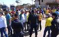 Porto Velho: mototaxistas fazem protesto na estrada do Belmonte
