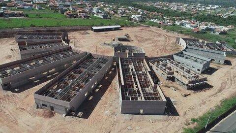 Obra de construção do Hospital Municipal está em andamento em Cacoal