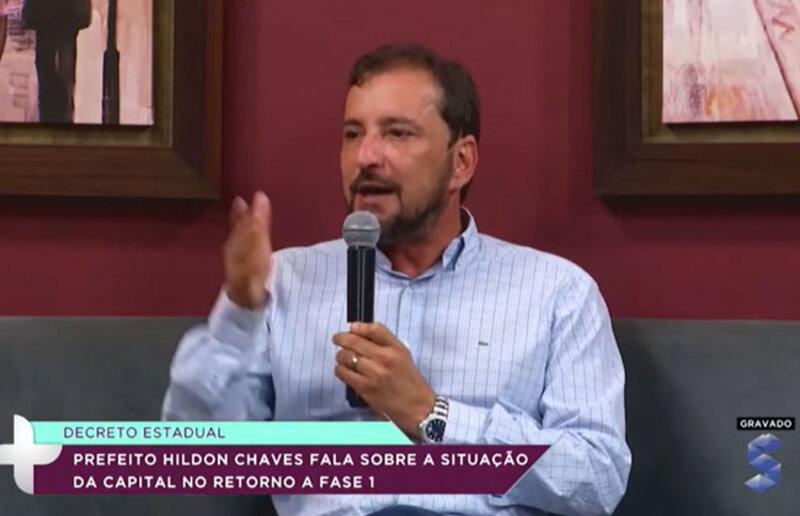 Prefeito Hildon Chaves fala sobre as medidas adotadas pelo novo isolamento social