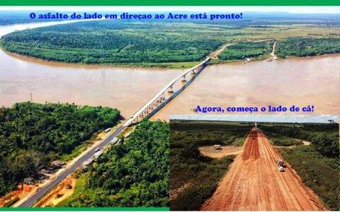 Reta final da ponte do Abunã + A crueldade é tratada por leis brandas + Corona: união já nos mandou 403 milhões