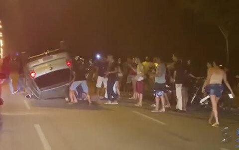 Mais uma acidente registrado no Espaço Alternativo de Porto Velho
