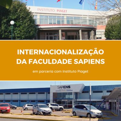 Faculdade Sapiens inicia processo de internacionalização com instituto de Portugal