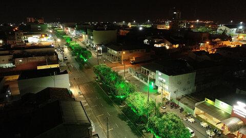 Cacoal: prefeitura revitaliza o paisagismo da cidade