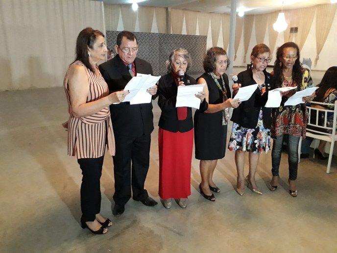 As convencionais de Porto Velho formaram um jogral bem aplaudido, com a participação do futuro governador do Distrito, Rony Vacadiez