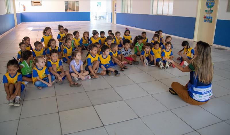 Escola Municipal Encantos de Mutum - Nova Mutum Paraná