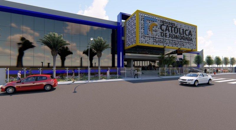 O projeto do novo Campus, previsto para ser entregue em 2021