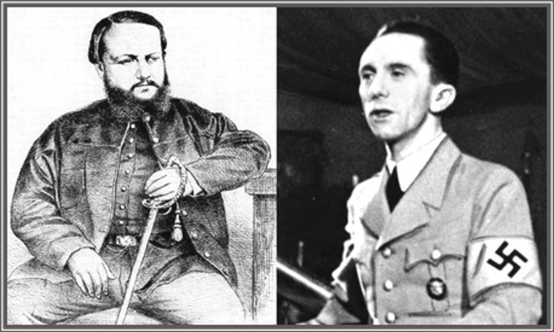 López e Joseph Goebbels