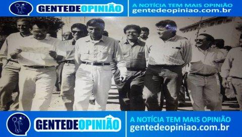 Dilson Machado nas caminhadas políticas de Rondônia