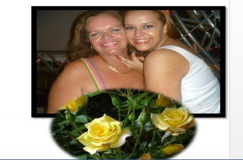 Marlene Rolim: Lucinha Mendes com sua linda Mariana