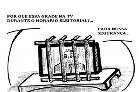 A GRADE NO HORÁRIO ELEITORAL...