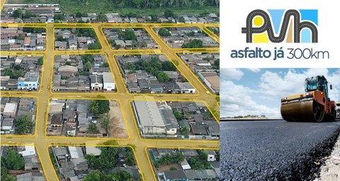 Saiba tudo sobre o maior programa de asfaltamento de Porto Velho