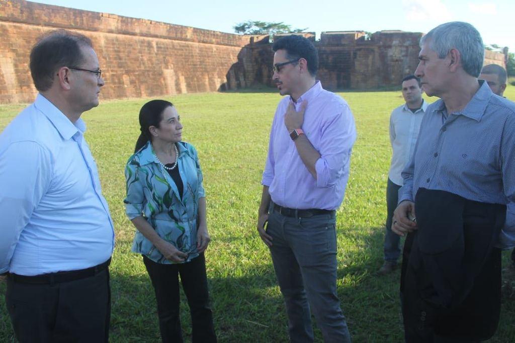Ministro da Cultura visita Rondônia e conhece o Forte Príncipe da Beira - Gente de Opinião