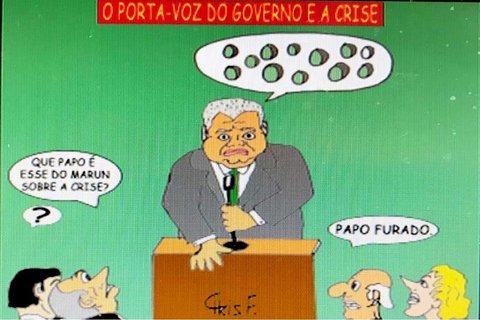 O PORTA-VOZ E A CRISE POLÍTICA