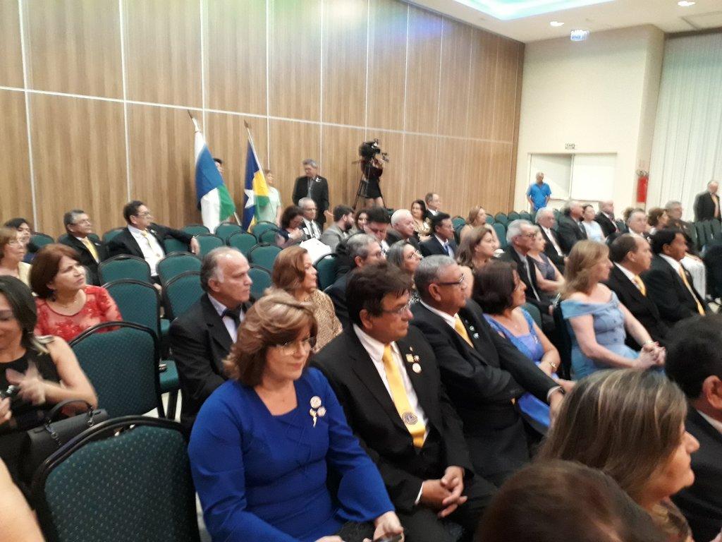 A bandeira de Rondônia com as outras cinco do  Distrito LA-1 - Gente de Opinião