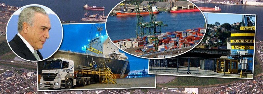 PF: empresas portuárias pagavam mesada de R$ 340 mil a Michel Temer  - Gente de Opinião