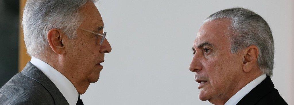 Ponte para o futuro de FHC e Temer desaba: bolsa cai 5% e dólar vai a R$ 3,95 - Gente de Opinião