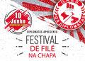 Diplomatas promove o Festival de Filé na Chapa