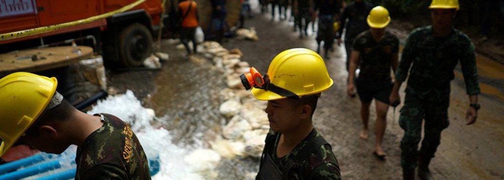 Seis meninos são os primeiros resgatados de caverna na Tailândia - Gente de Opinião