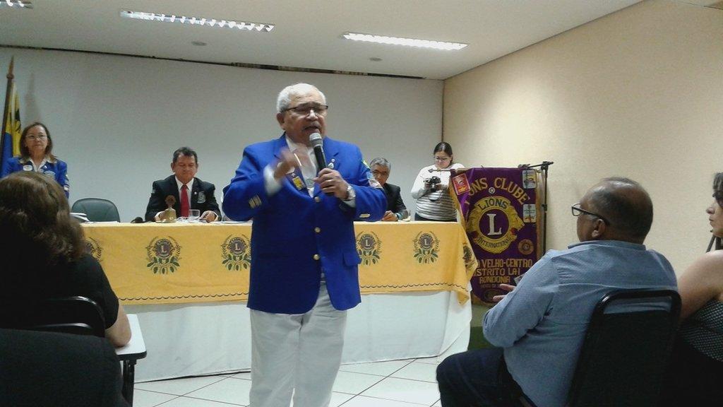 Gervasio Araújo: aula de leonismo - Gente de Opinião