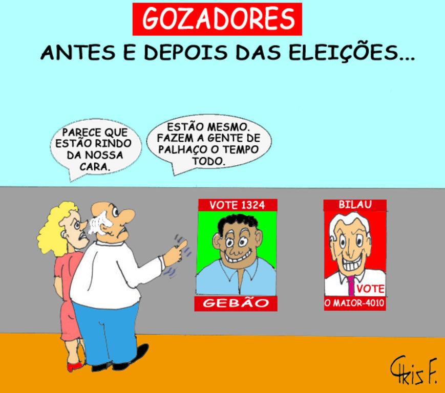 GOZADORES - Gente de Opinião