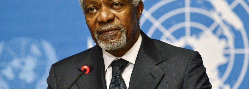 Morre ex-secretário-geral da ONU Kofi Annan - Gente de Opinião