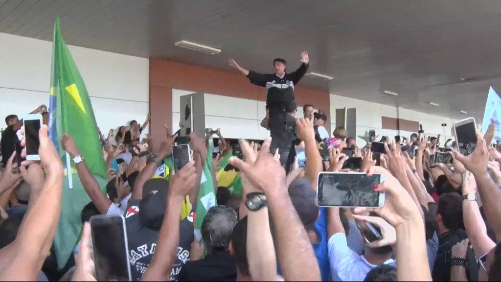 Bolsonaro visita Porto Velho - RO (VÍDEO) - Gente de Opinião