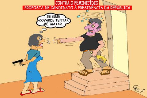CONTRA O FEMINICÍDIO