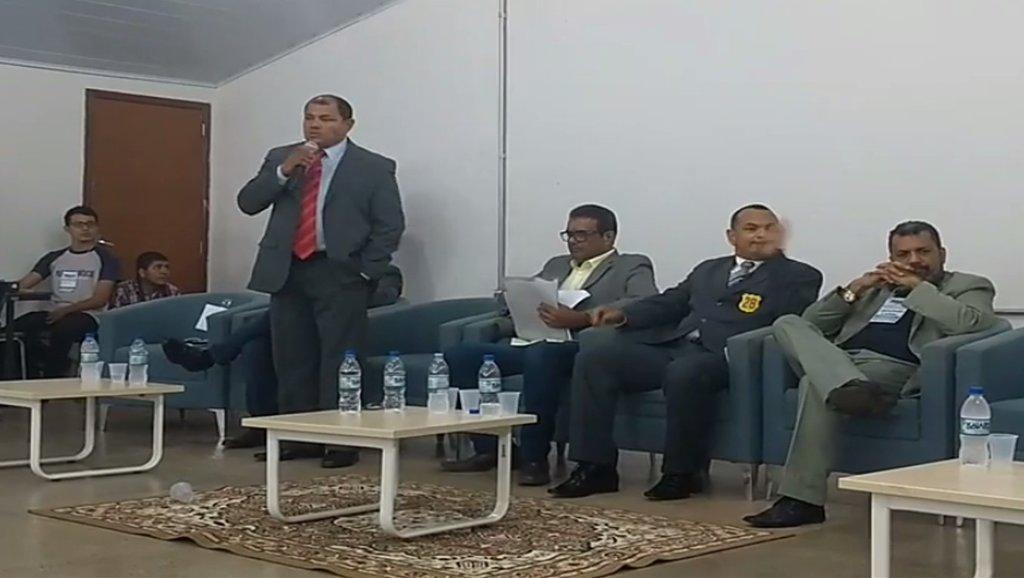 Pedro Nazareno do PSTU participa do primeiro debate na UNIR, O primeiro entre candidatos ao governo de Rondônia - Gente de Opinião