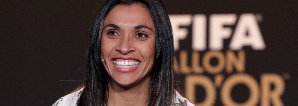 Marta é eleita melhor jogadora do mundo pela sexta vez  - Gente de Opinião