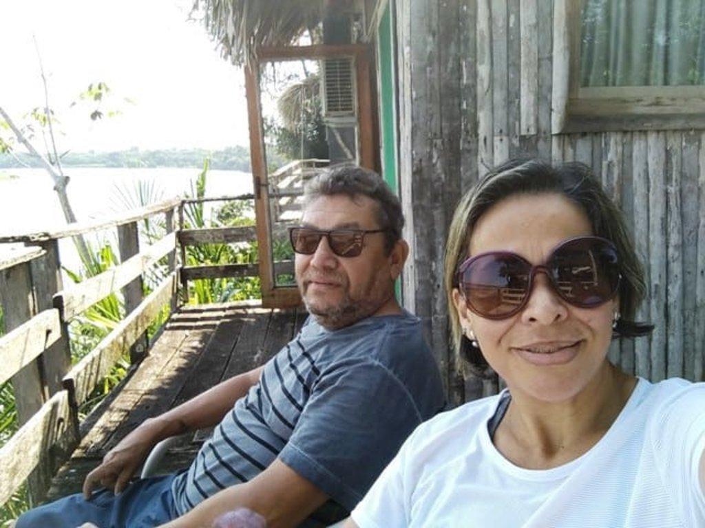 Na varanda de nossa cabana à beira do rio Mamoré - Gente de Opinião