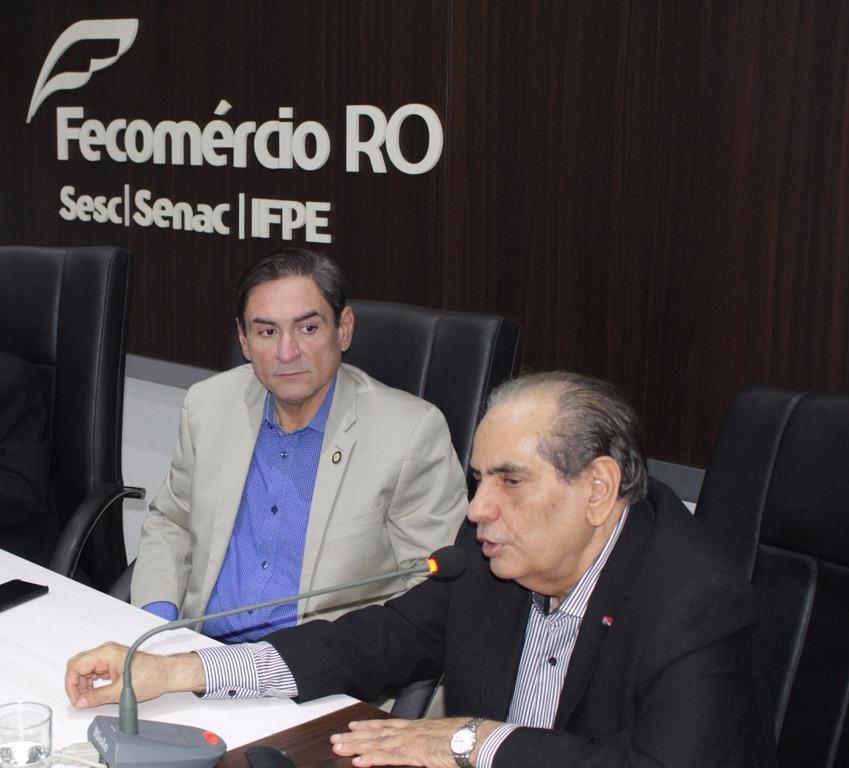 Raniery Coelho(E) e José Roberto Tadros(D) - Gente de Opinião