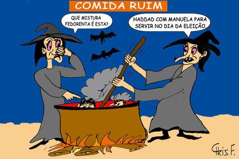COMIDA RUIM